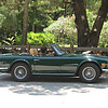paul suddard tr6 with tommy suddard at wheel <br /> Washington Oaks Picnic <br /> May 22 2010