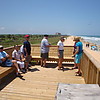 the rocks, abcc members on observation deck <br /> Washington Oaks Picnic <br /> May 22 2010