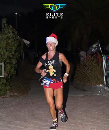 Christmas Santa Stroll 5k Glow Run - 2016