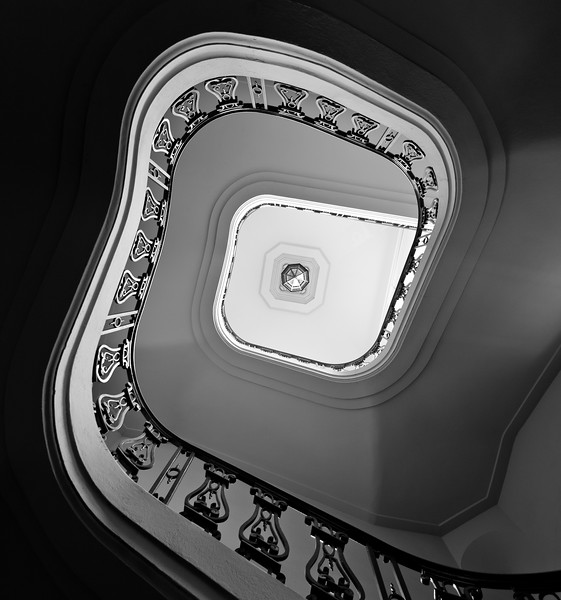 Pasadena City Hall Staircase