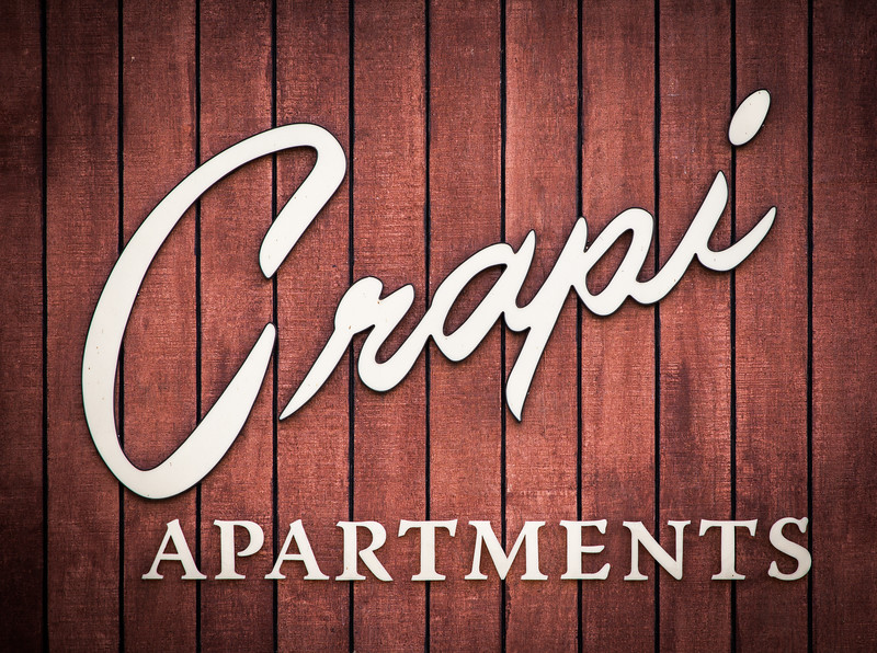 """Crapi Apartments <span style=""""color: #666; font-size: 13px;"""">Los Angeles CA</span>"""