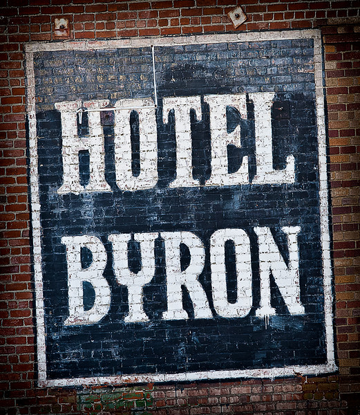 """Hotel Byron <span style=""""color: #666; font-size: 13px;"""">Los Angeles, CA</span>"""
