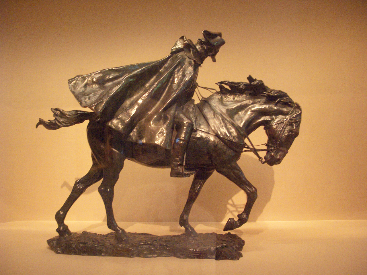Horseman in a Storm by Messonier