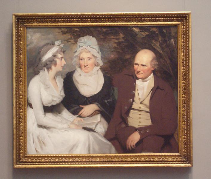 John Johnstone, Betty  Johnstone,and Miss Wedderburne by Sir Henri Raeburn