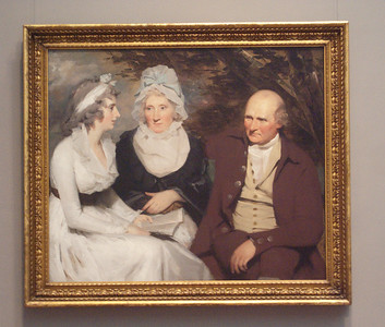 John Johnstone, Betty  Johnstone,and Miss Wedderburne by Sir Henri Raeburn