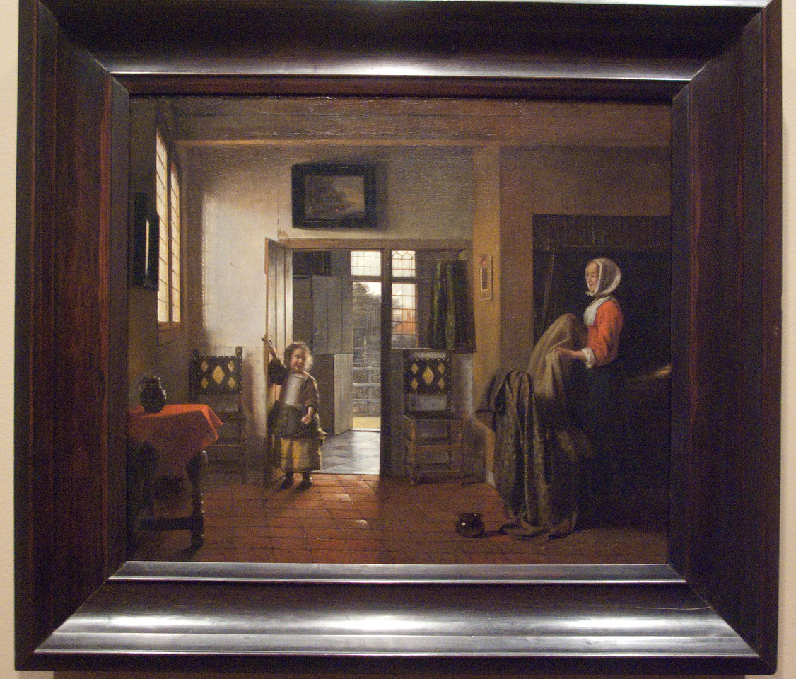The Bedroom by Pieter de Hooch