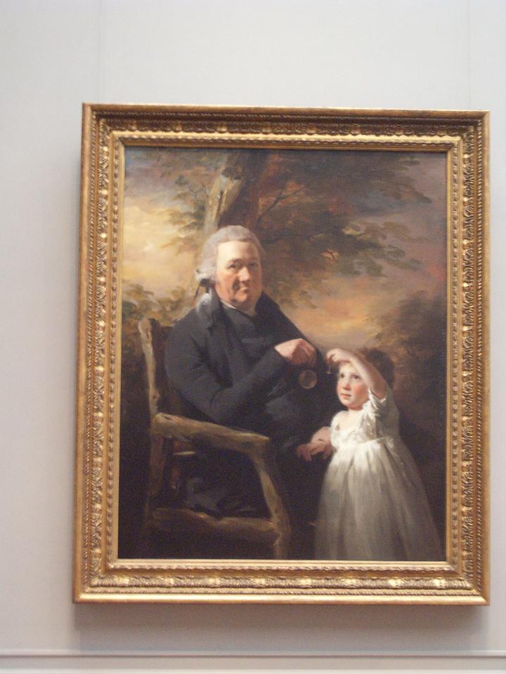 John Tait and his Grandson by Sir Henry Raeburn