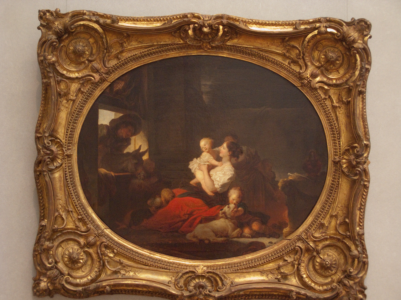 The Happy Family by Fragonard