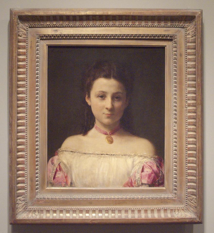 Mademoiselle de Fitz-James by Henri Fantin-LaTour