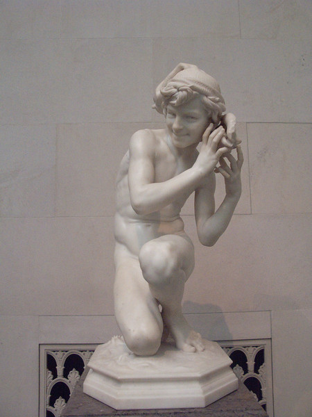 Neapolitan Fisher boy by Carpeaux