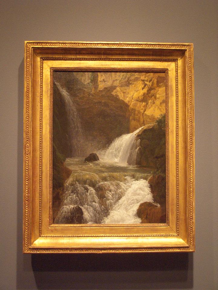 Waterfalls at Tivoli, 1788, Bidauld