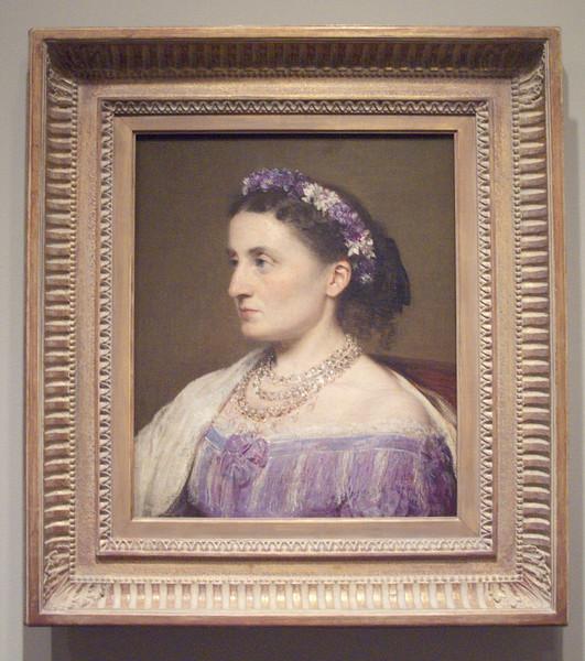 Duchess de Fitz-James painted by Henri Fantin-LaTour