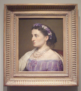 Duchess de Fitz-James painted by Henri Fantin-LaTour