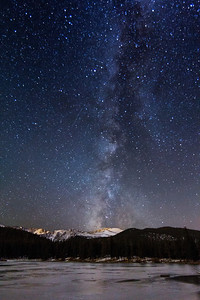 Milky Way above Echo Lake