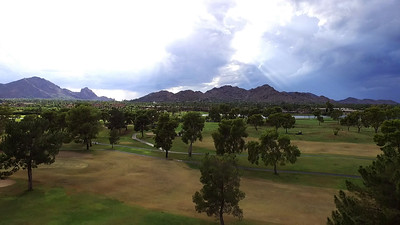 Tropical Storm Lorena - McCormick Ranch Golf Club 9.23.19