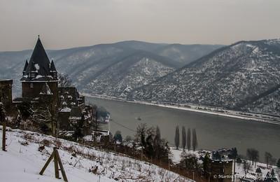 Nr St Goar, Rhine