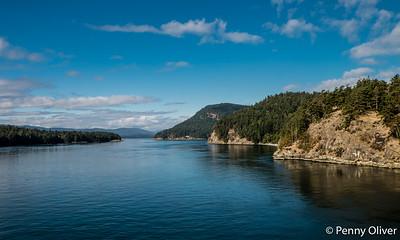 Between Tsawwassen and Vancouver Island