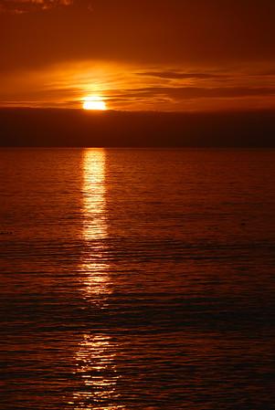 French Beach Sunset