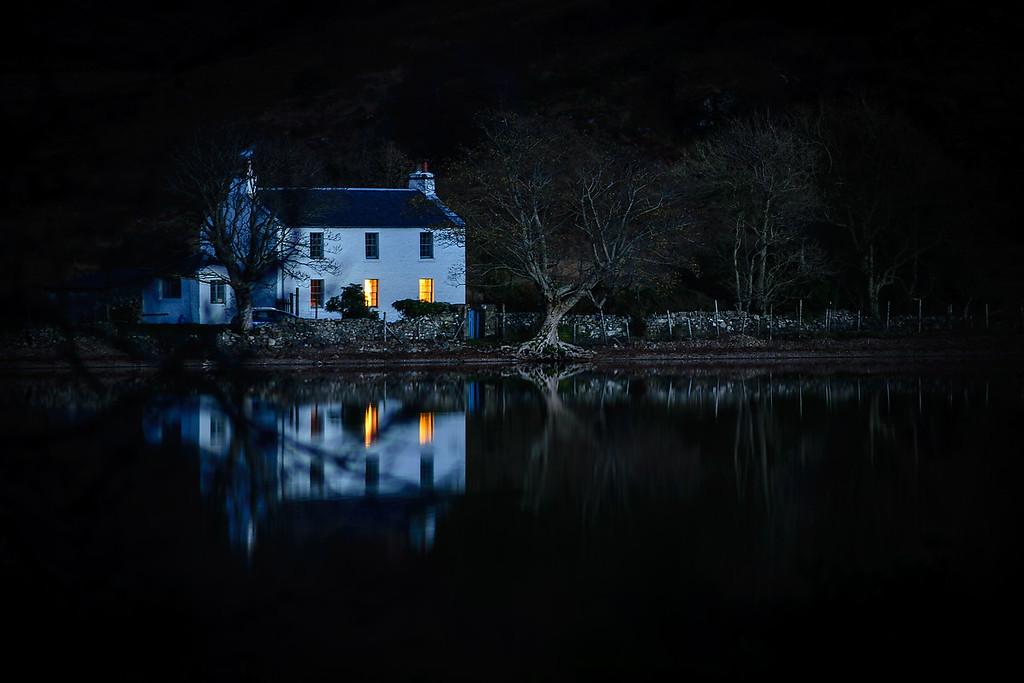 Farmhouse on Loch Spelve