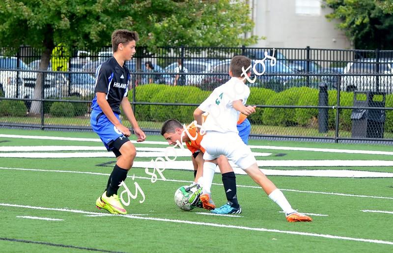 Trinity Freshmen Soccer vs Ft Thomas Highlands 002