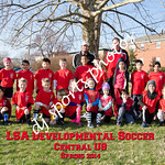 Central U8 Team Final with writing
