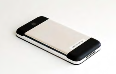 Photographs of Apple's pre-iPhone design models