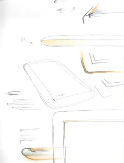 Sketches of pre-iPad designs Apple considered