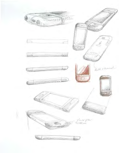 Sketches of pre-iPhone designs Apple considered