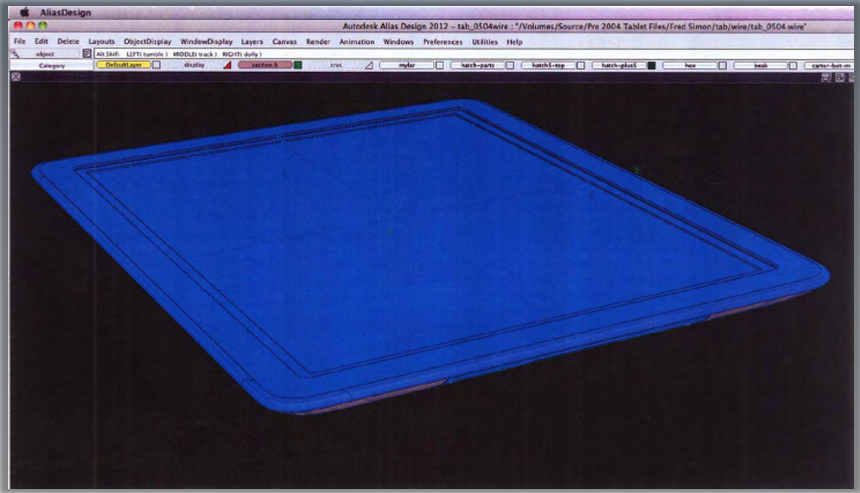 CAD images of pre-iPad designs Apple considered
