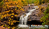 Blazing autumn foliage frames Amnicon Falls within Amnicon Falls State Park (USA WI South Range; RAO 2012 Nikon D300s Image 3798)