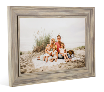 Colonial Frame in Ash Gray