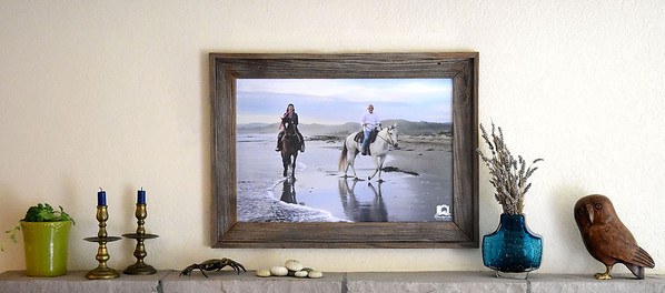Sandprints Barnwood Frame