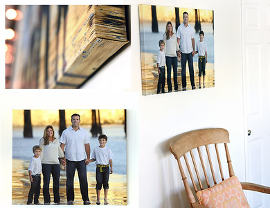 Sandprints Premium Canvas