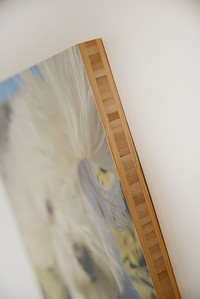 Bamboo Standout (the image is printed and secured directly on top of the wood, no wood grain shows through)