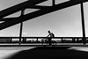 Cycling on the Bridge
