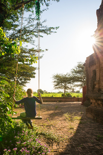 An abandoned temple in Bagan