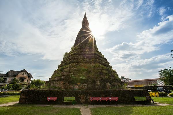 Round about in Vientiane