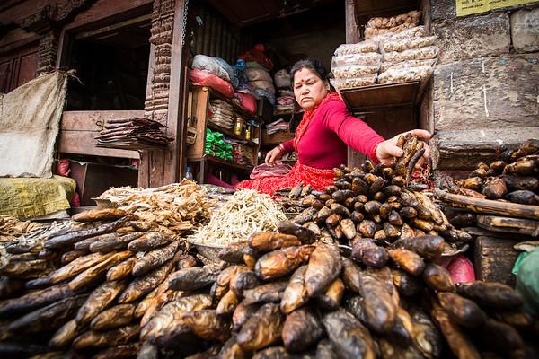 Fishy business - Kathmandu