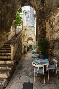 Split alleyway, Croatia