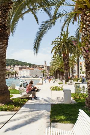 Split promenade, Croatia