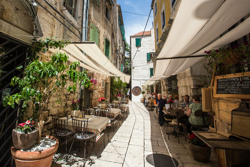Eating out in Split, Croatia