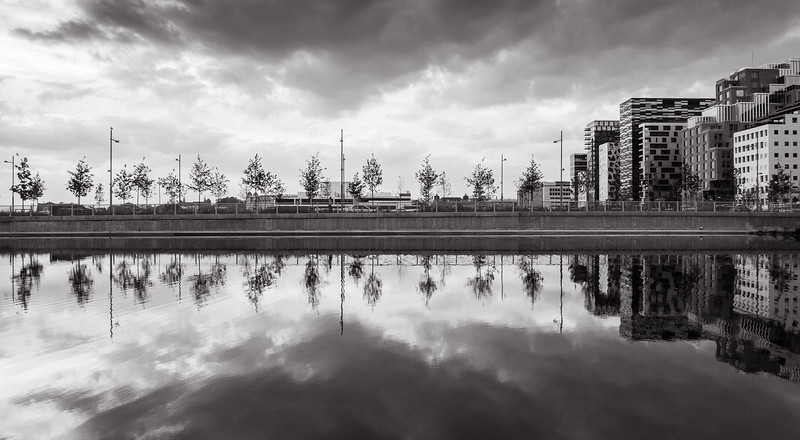 Reflections in Middelalderparken
