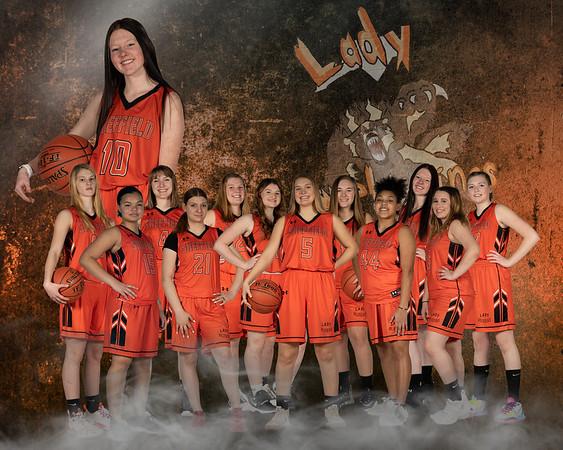 10 x 8 Girls basketball team layout