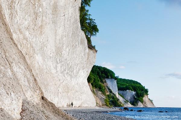 LES ILES DE RUGEN & USEDOM EN ALLEMAGNE. Ile de Rugen. Falaises de craie du Parc National Jasmund