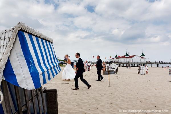 LES ILES DE RUGEN & USEDOM EN ALLEMAGNE. L'île d'Usedom; Ahlbeck, une station balnéaire de la mer Baltique qui fait aujourd'hui partie de la commune d'Heringsdorf.