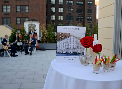 NEW YORK, NEW YORK - SEPTEMBER 17: Allen House rooftop party presented by TOWN Real Estate at 201 East 71st Street on September 17, 2015 in New York, New York. (Photo by Lukas Maverick Greyson)