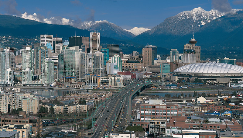 Cambie street_mtns
