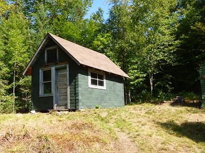 Mount Adams fire observer's cabin.