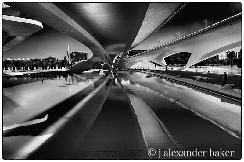 Ciutat de les Arts i les Ciències Valencia 2 B&W