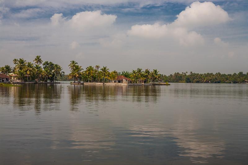 Alleppey backwaters, Kerala, India